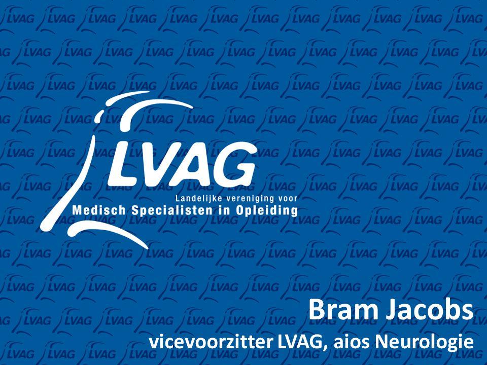 Bram Jacobs vicevoorzitter LVAG, aios Neurologie
