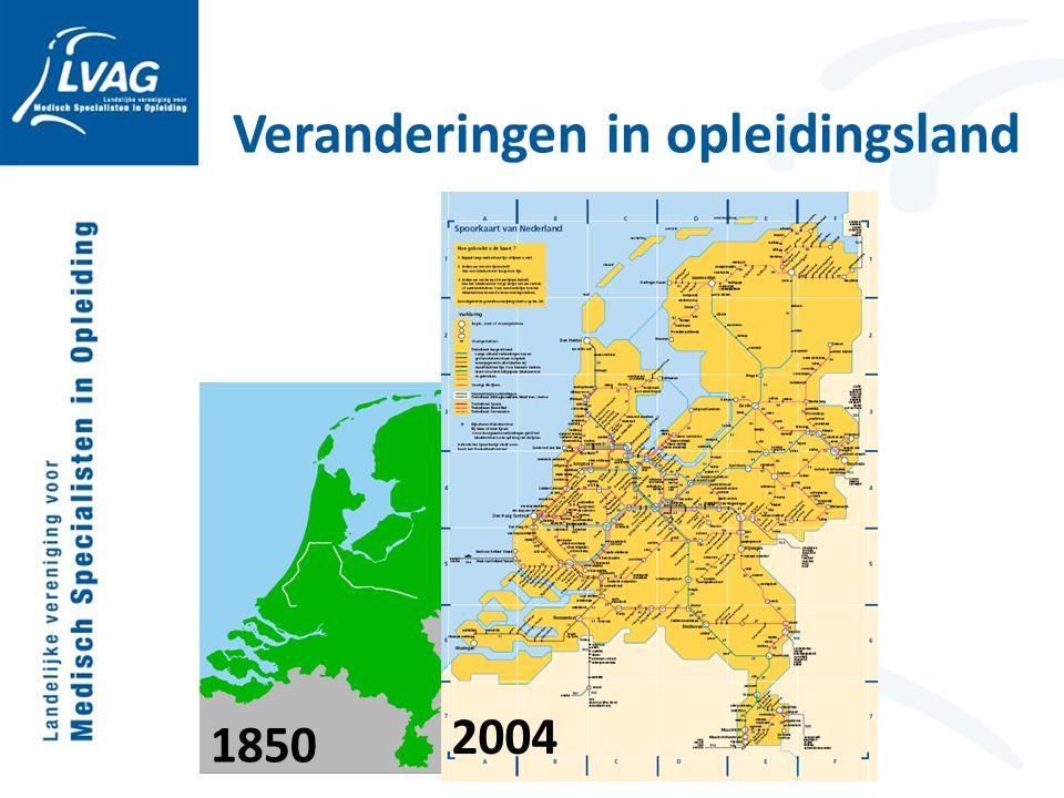 Veranderingen in opleidingsland 1850 2004