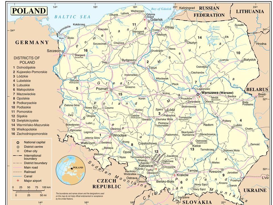 Polen: 90% katholiek geloof, christelijke cultuur.