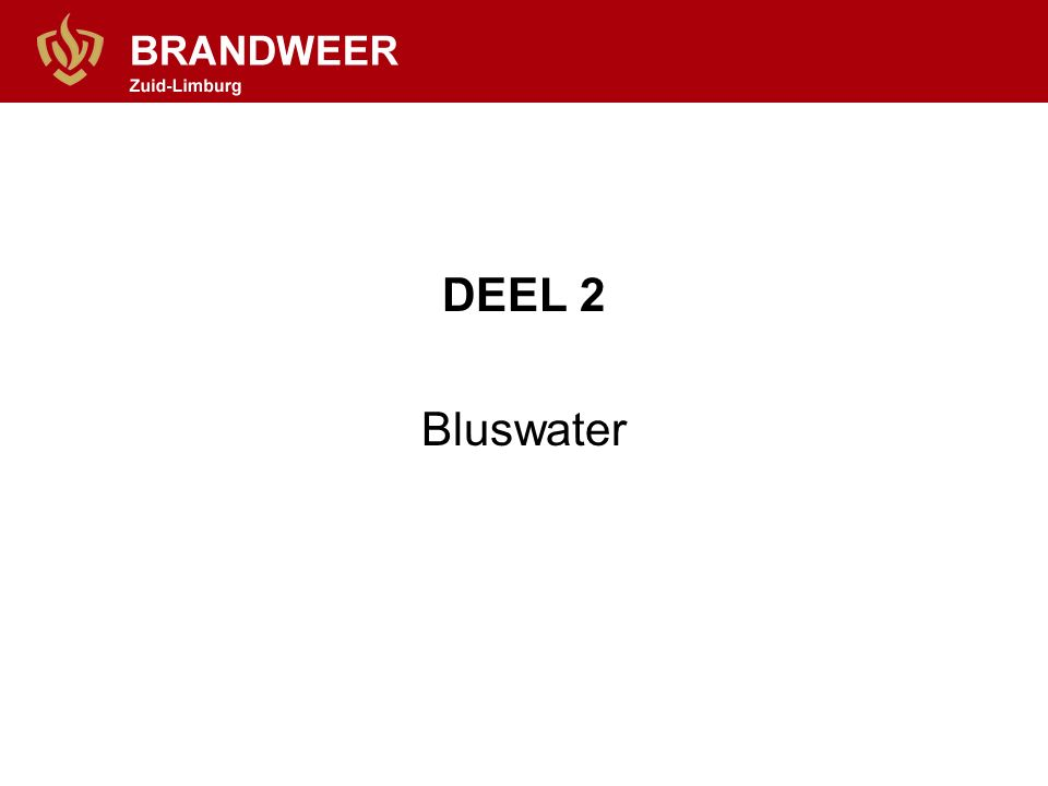 DEEL 2 Bluswater