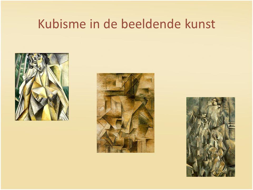 Kubisme in de beeldende kunst
