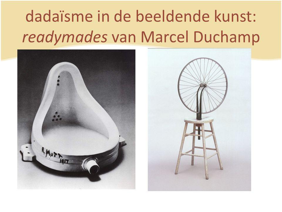 dadaïsme in de beeldende kunst: readymades van Marcel Duchamp
