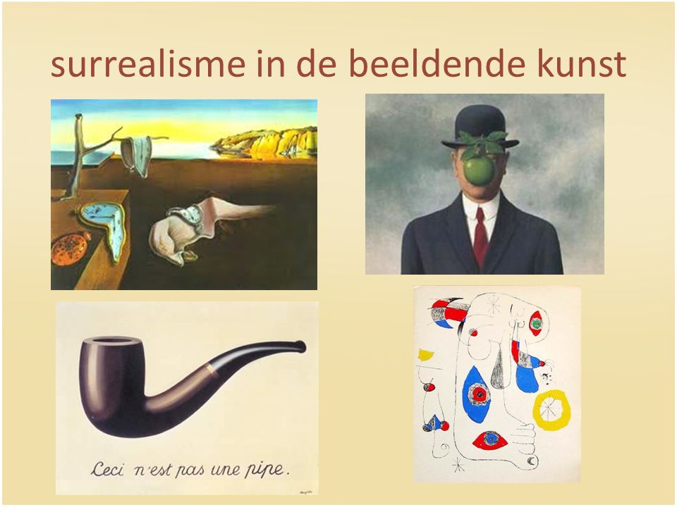 surrealisme in de beeldende kunst