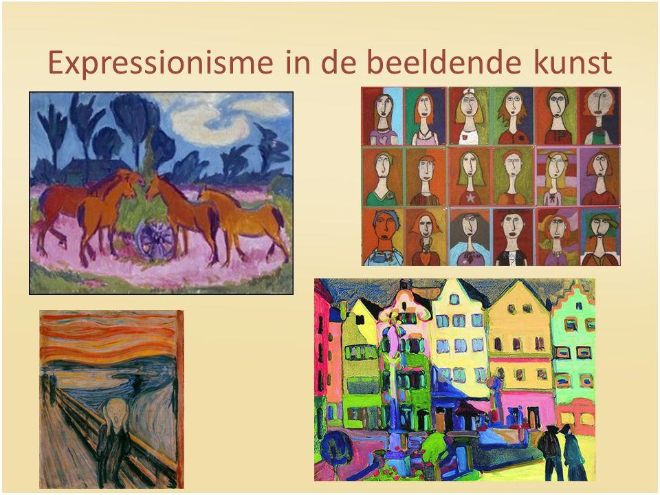 Expressionisme in de beeldende kunst