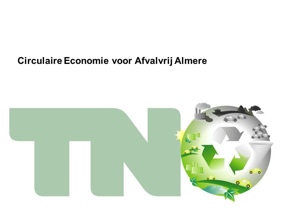 Circulaire Economie voor Afvalvrij Almere