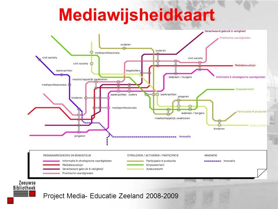 Mediawijsheidkaart Project Media- Educatie Zeeland 2008-2009