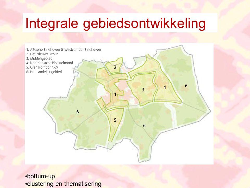 Integrale gebiedsontwikkeling bottum-up clustering en thematisering