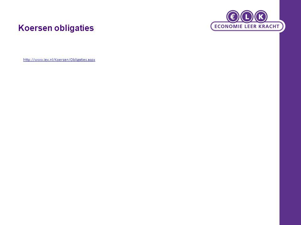 Koersen obligaties http://www.iex.nl/Koersen/Obligaties.aspx