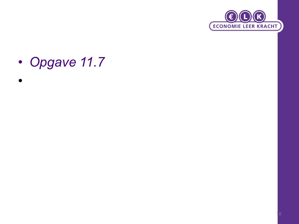 Opgave 11.7 18