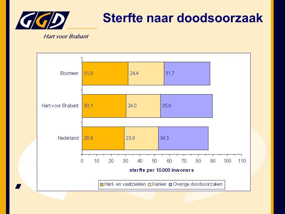 Hart- en vaatziekten en psychische stoornissen belangrijkste gezondheidsproblemen in regio Wat zijn de bevindingen voor Boxmeer.