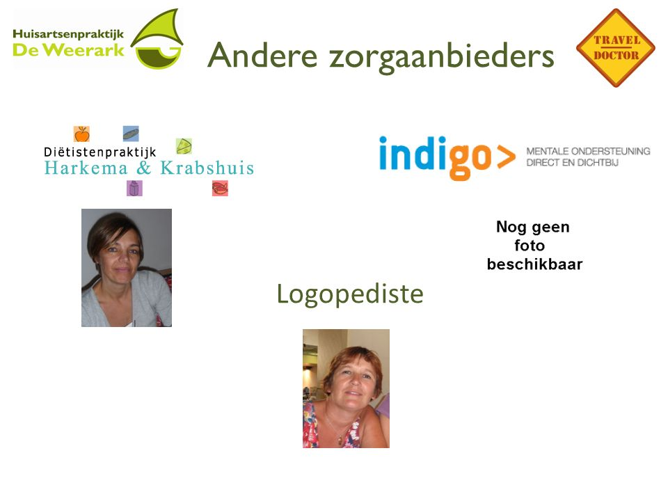Andere zorgaanbieders Logopediste