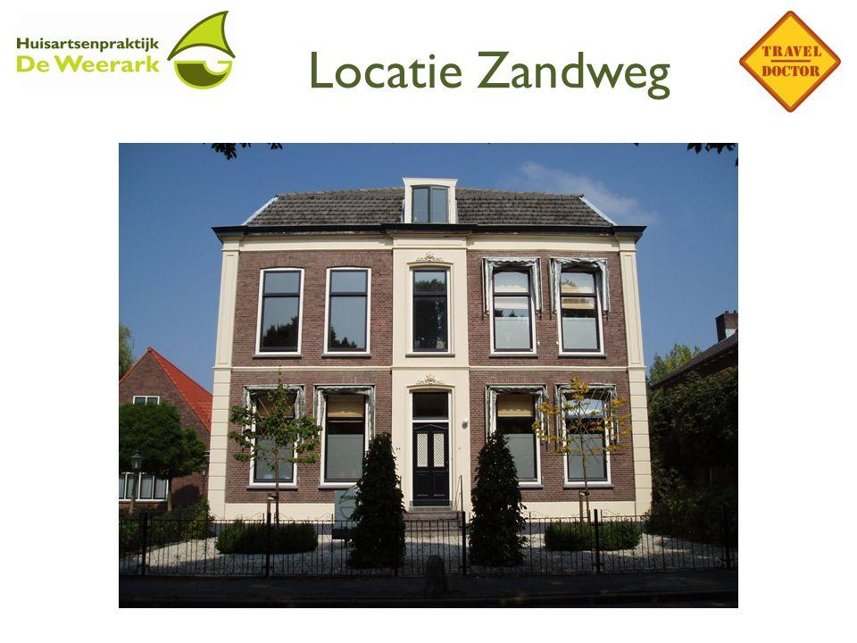 Locatie Zandweg