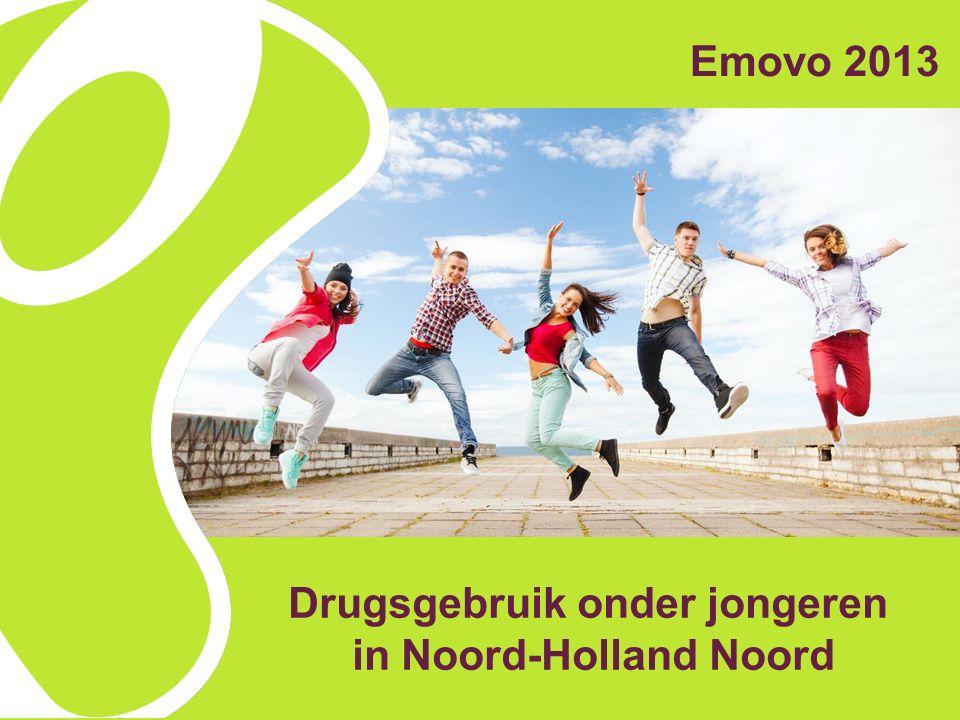 Drugsgebruik onder jongeren in Noord-Holland Noord Emovo 2013