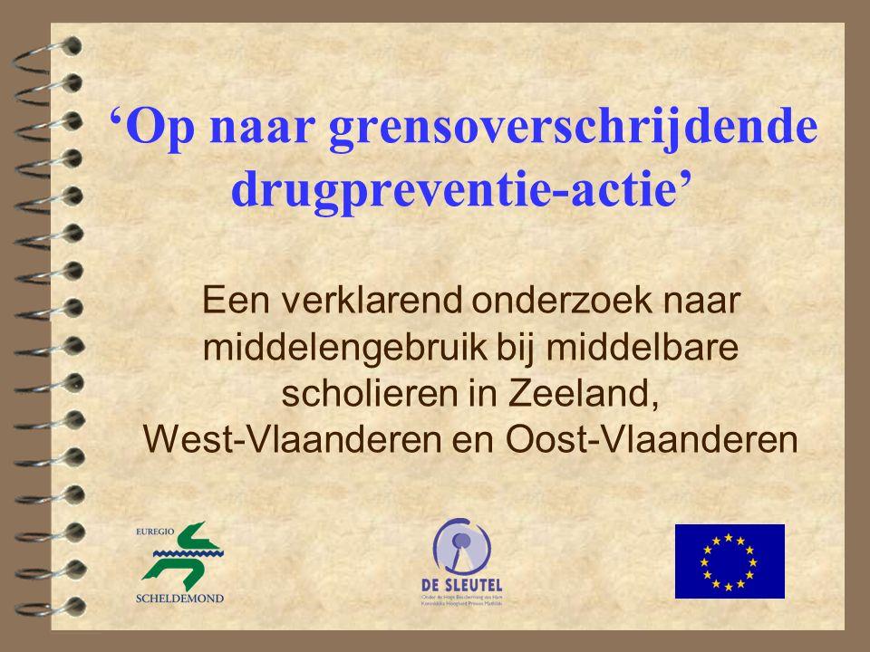 12 Onderzoekspopulatie (3) West-Vl Oost-Vl Zeeland 2de graad: 67.500 lln 27.500 lln 31.000 lln 9.000 lln 3de graad: 55.000 lln 25.000 lln 28.000 lln 2.000 lln