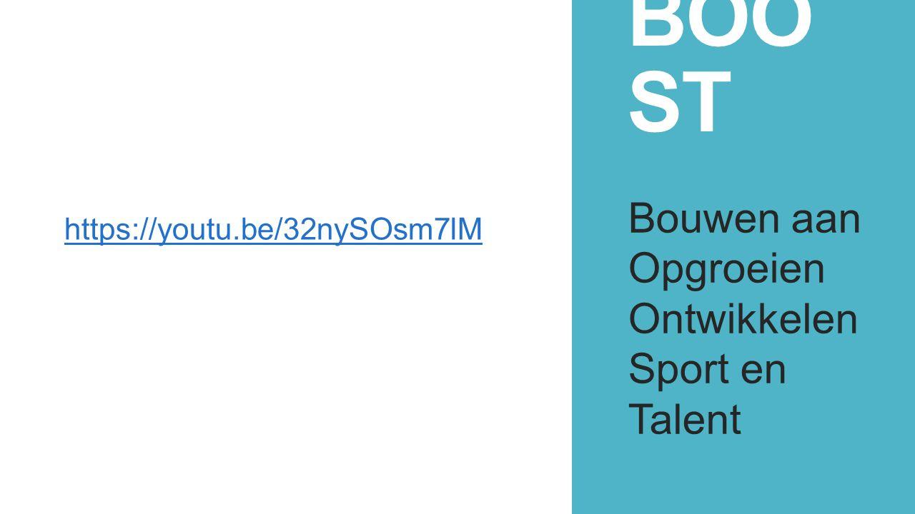 BOO ST Bouwen aan Opgroeien Ontwikkelen Sport en Talent https://youtu.be/32nySOsm7lM