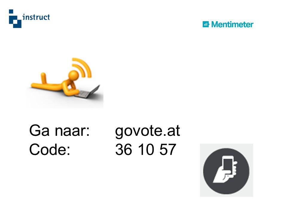 Ga naar:govote.at Code: 36 10 57