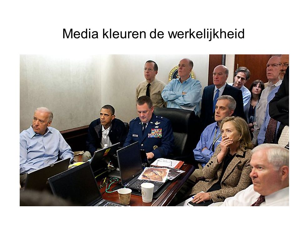 Media kleuren de werkelijkheid