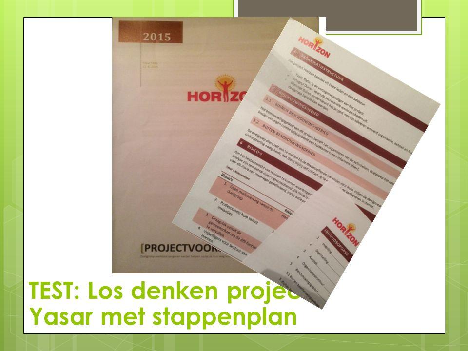 De praktijk na 14-04-2015  Brochure verandersomdenken is doorontwikkeld tot een glossy idee  Initiatief Tineke in Horst met verandersomdenken is enthousiast ontvangen, proces loopt nog.