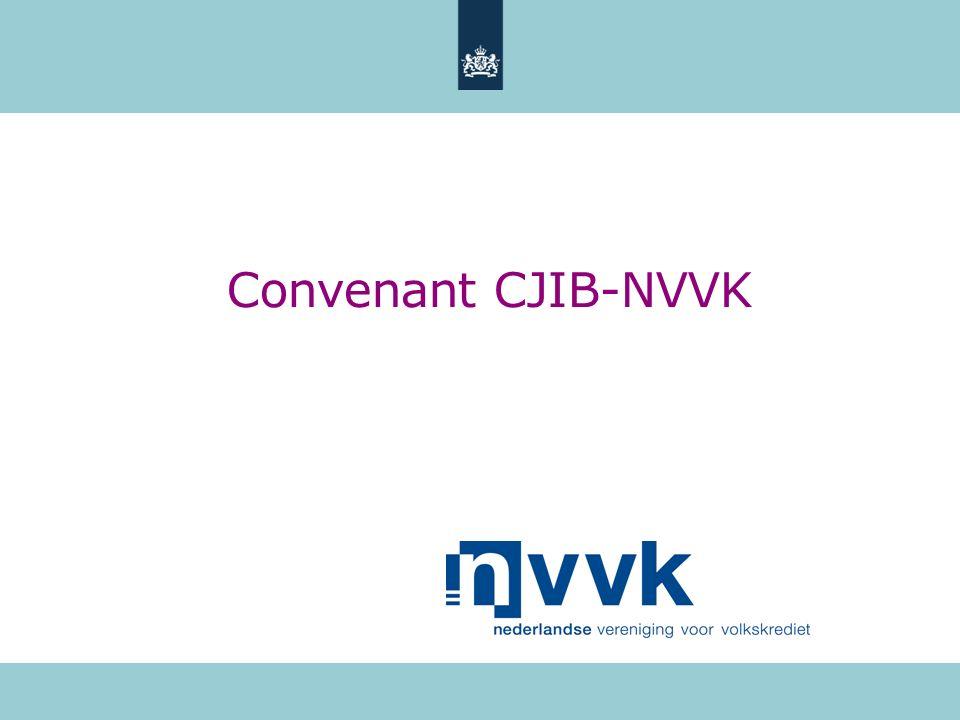Convenant CJIB-NVVK