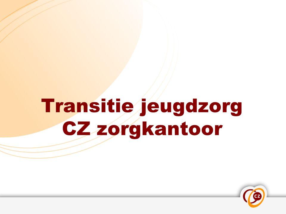 Transitie jeugdzorg CZ zorgkantoor