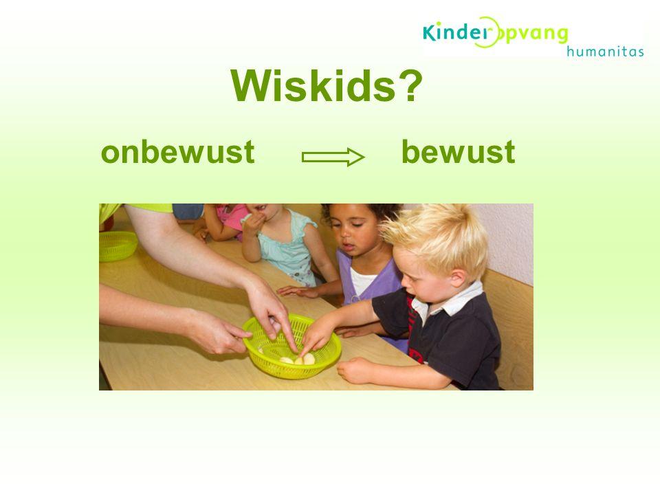 Met Wiskids wil Kinderopvang Humanitas - Kinderen actief met wiskunde laten spelen - Bewust als 'nieuw' element in ontwikkelingsgericht werken gebruiken