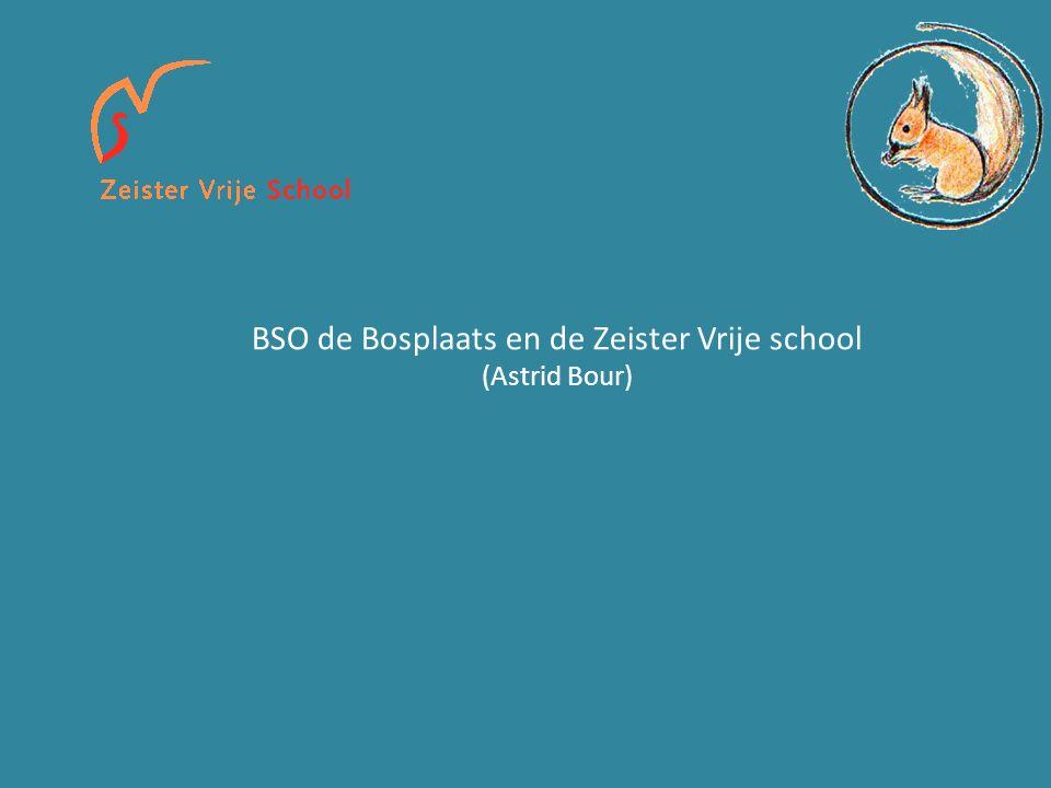 BSO de Bosplaats en de Zeister Vrije school (Astrid Bour)