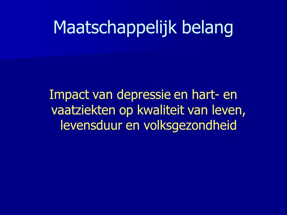 Vascular Disease and Future Risk of Depressive Symptomatology Resultaten Mast et al.