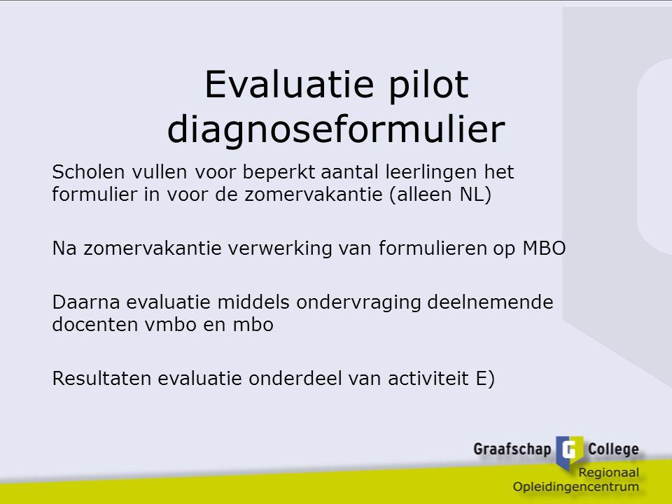 Evaluatie uitvoering Stappenplan Enquête onder schoolleiders Groepsgesprekken met docenten Bijeenkomst schoolleiders