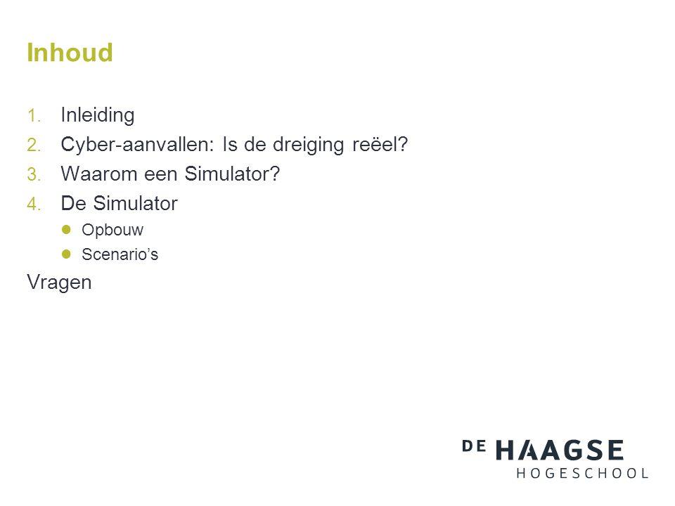 Waarom een Simulator.
