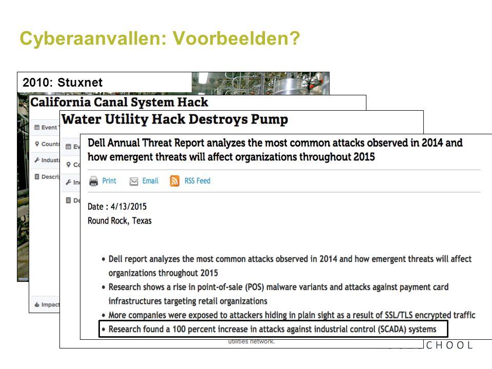 Cyberaanvallen: Voorbeelden 2010: Stuxnet