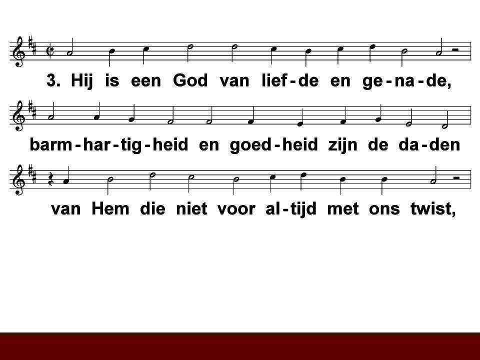 Ere zij aan God de Vader (LvdK 255) t. W. Barnard; m. H. Smart