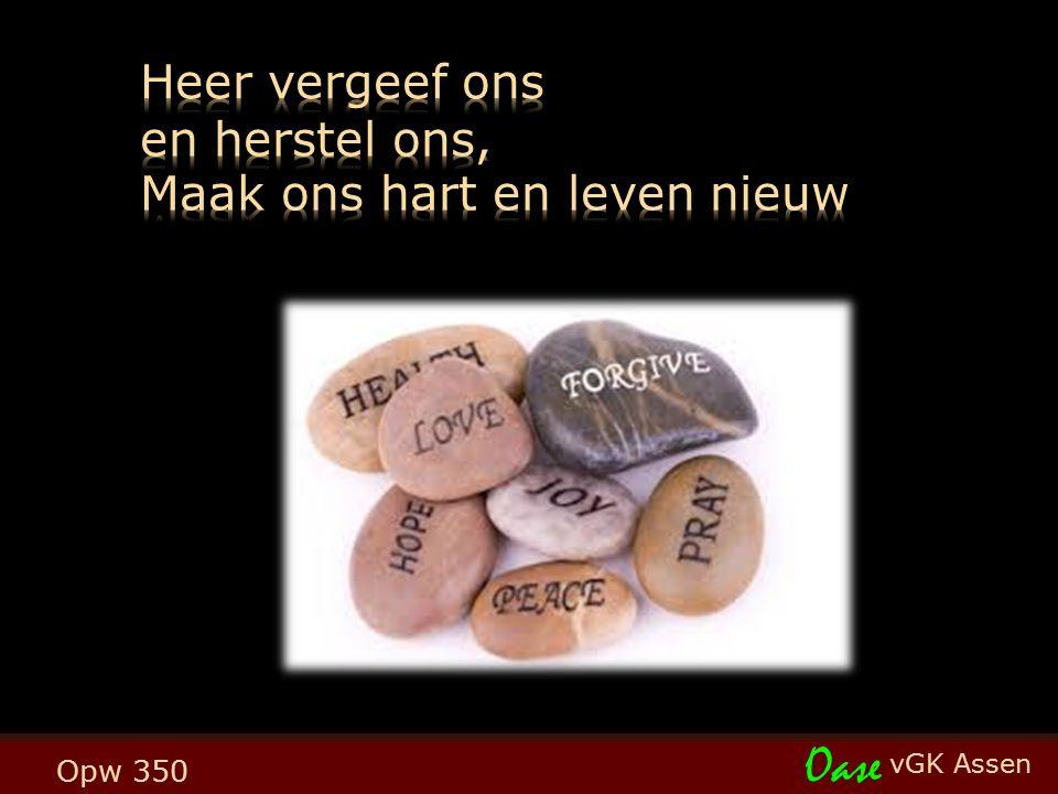 Heer, wijs mij uw weg (Opw 687) t. H. Maat; m. L. & E. Smelt