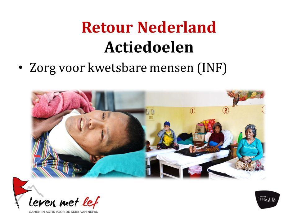 Retour Nederland Actiedoelen Zorg voor kwetsbare mensen (INF)