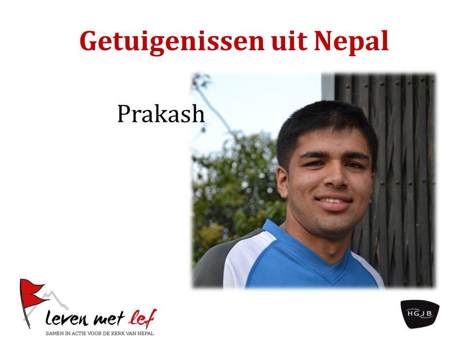Getuigenissen uit Nepal Prakash