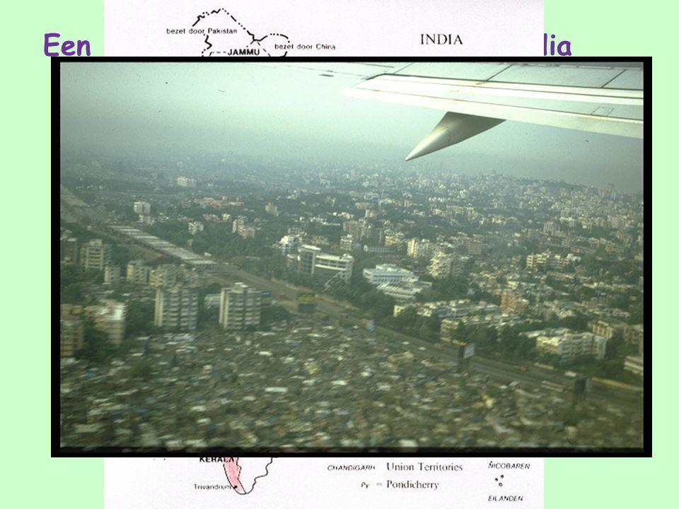 Een aantal plaatjes van het land India Het gebied waar de kinderen wonen