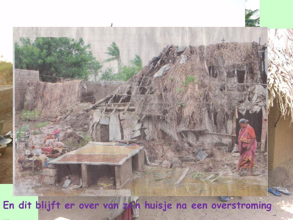 De dorpjes waar onze kinderen wonen En dit blijft er over van zo'n huisje na een overstroming …