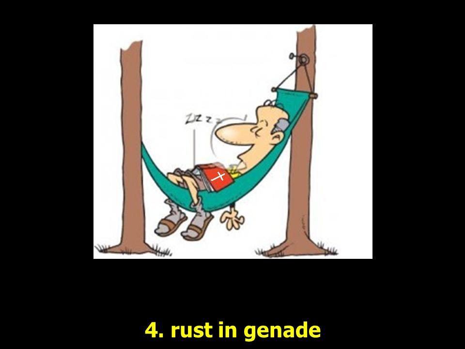4. rust in genade