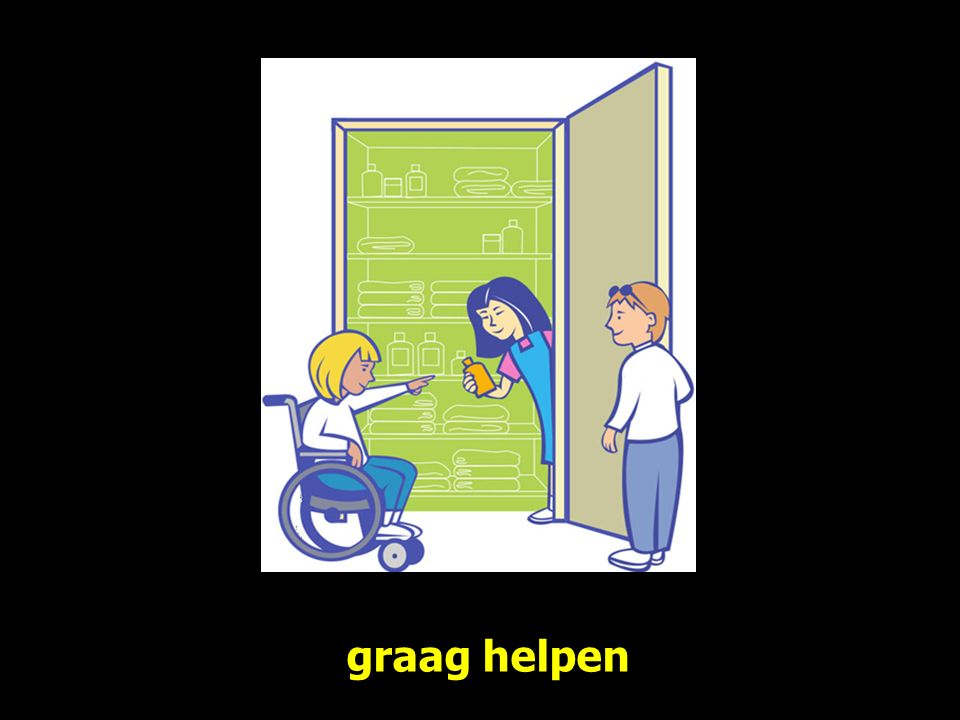 graag helpen