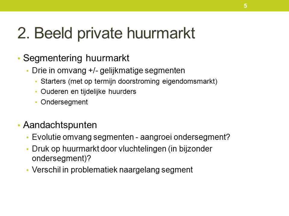 3.Bevraging actoren - resultaten Hoe bijkomend aanbod voor sociaal zwakkere huurders realiseren.