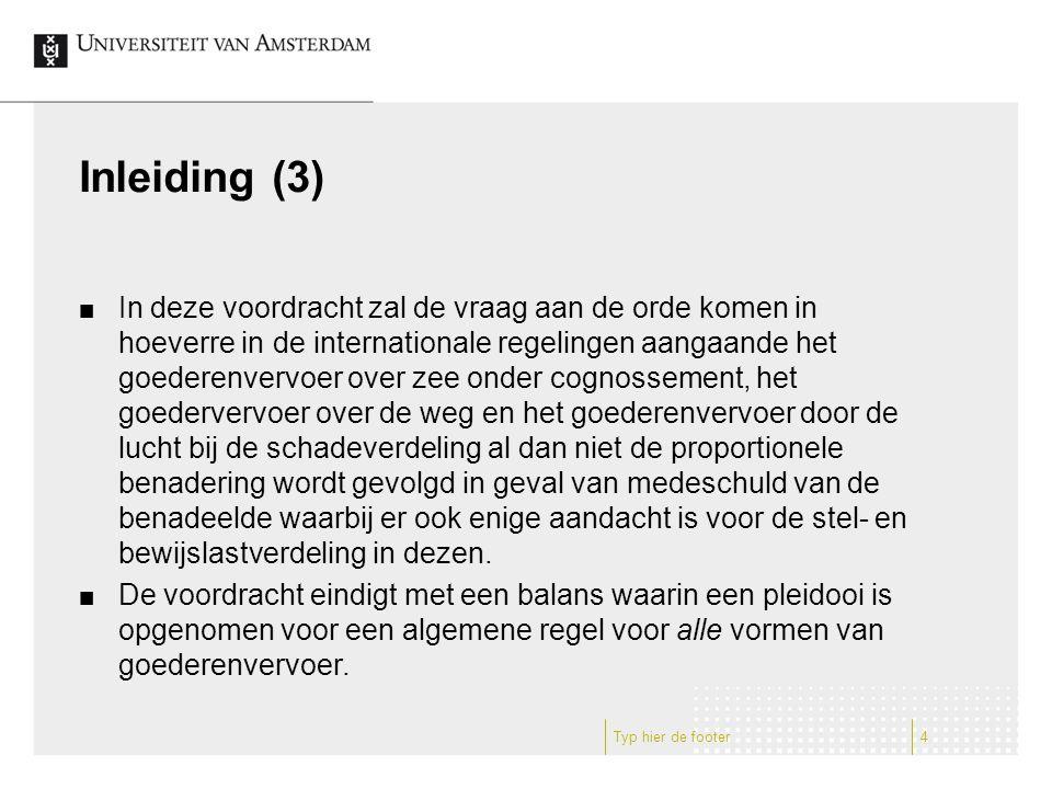 Hague (Visby) Rules (1) De H(V)R kennen in art.III het concept van de Overriding Obligation(s).