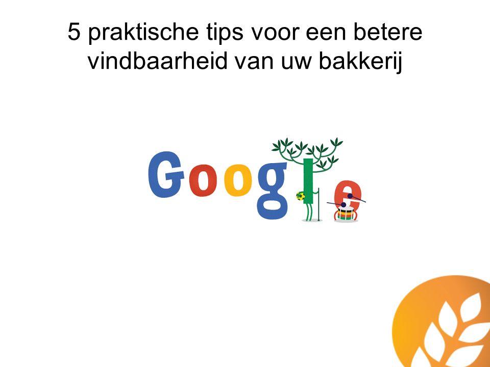 Juiste product content en -foto's Wees relevant Schrijf voor jouw bezoekers en niet voor de zoekmachines.