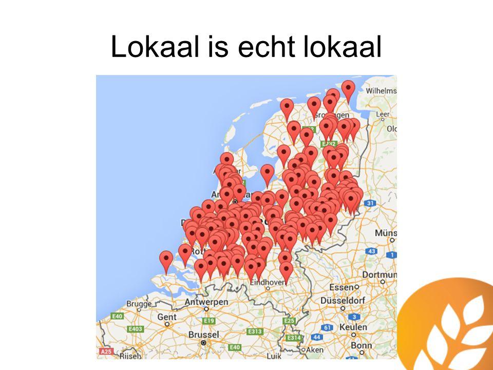 Lokaal is echt lokaal