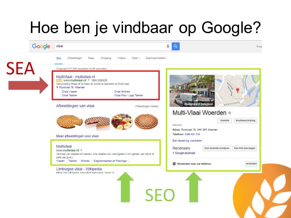 Hoe ben je vindbaar op Google? SEO SEA