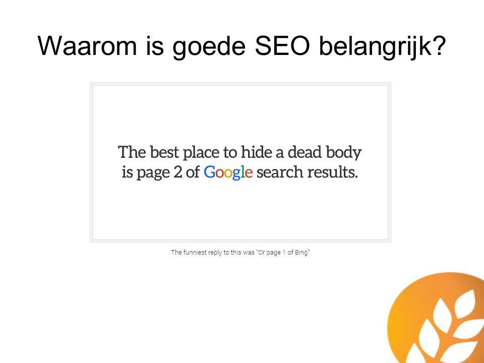 SEO strategie Graaggedaan.nl