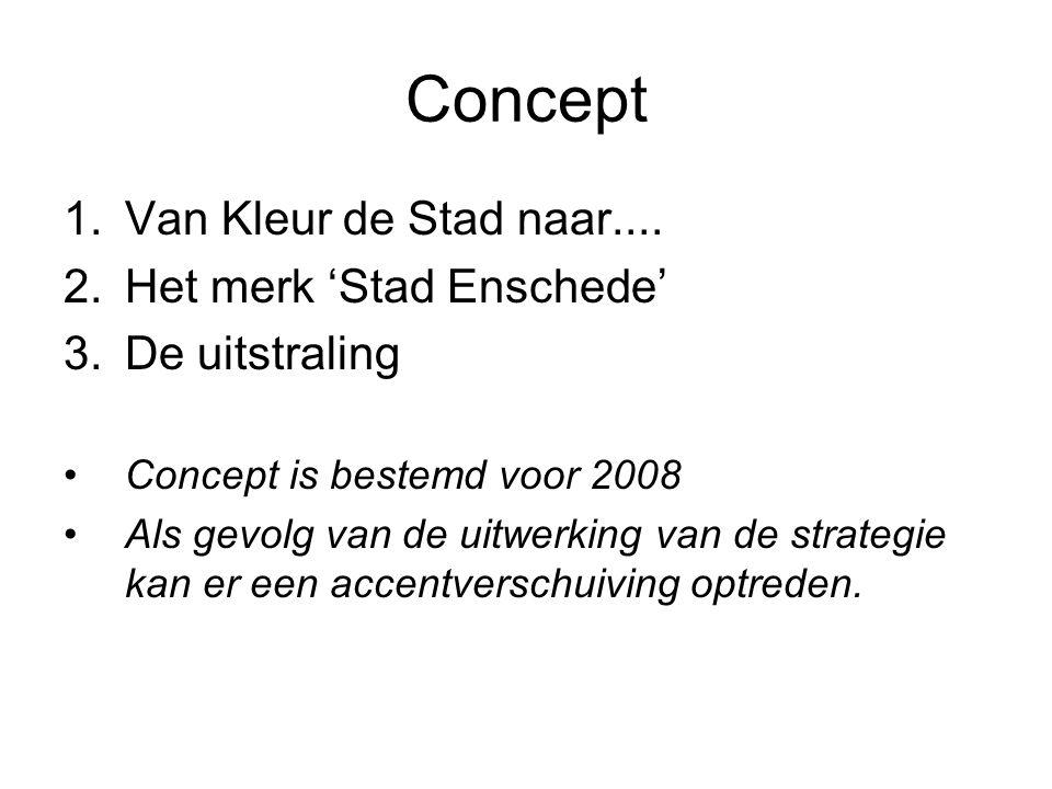 Concept 1.Van Kleur de Stad naar....