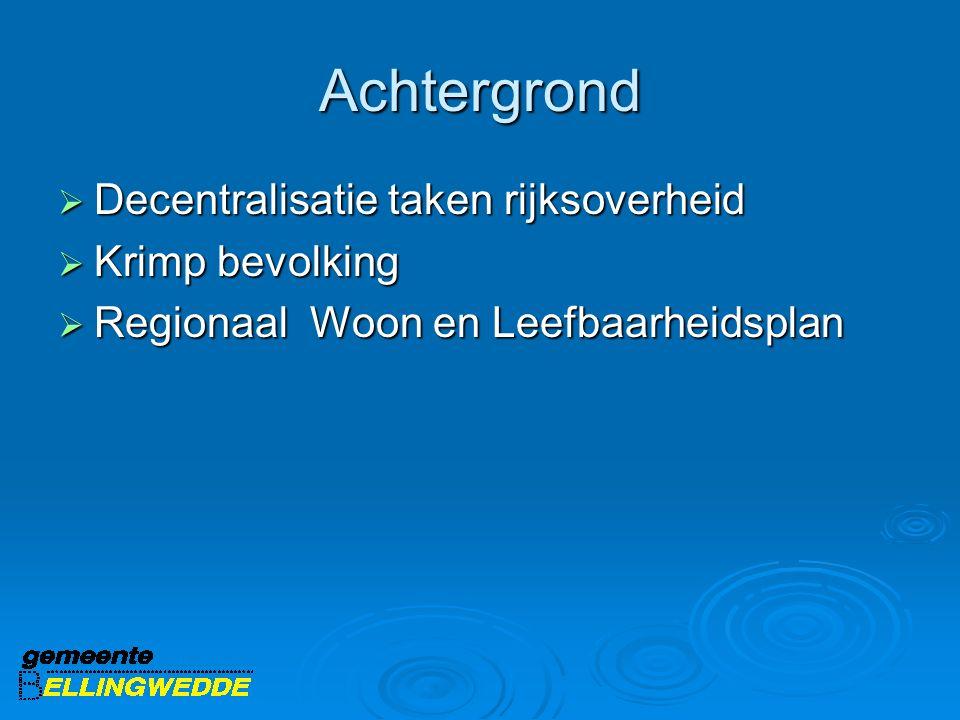 Stand van zaken RWLP  November 2011 basisplan vastgesteld  Aandacht voor RWLP middels Toogdagen, nieuwsbrieven en website www.vankrimpnaarkwaliteit.nl  Vooral van belang om ervaringen uit te wisselen en goede voorbeelden te kunnen benutten