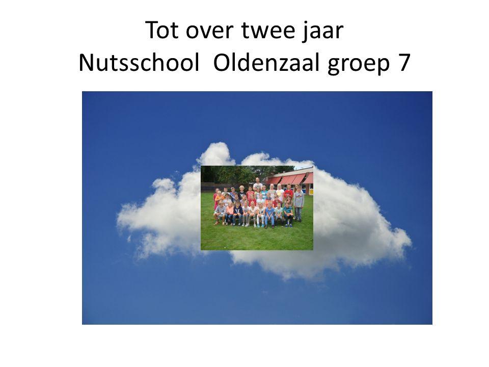 Tot over twee jaar Nutsschool Oldenzaal groep 7