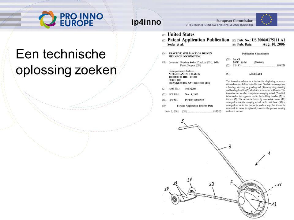 ip4inno 10 Een technische oplossing zoeken