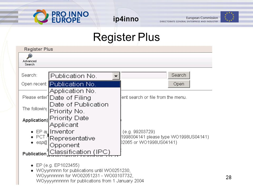 ip4inno 28 Register Plus