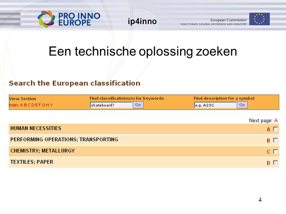 ip4inno 4 Een technische oplossing zoeken